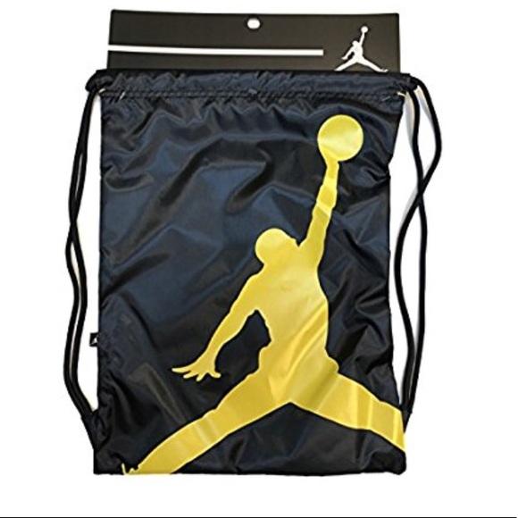 d95c7801d3d9 NIKE Air Jordan Drawstring Gym Bag